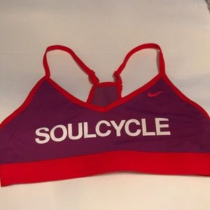 SOULCYCLE NIKE sports bra